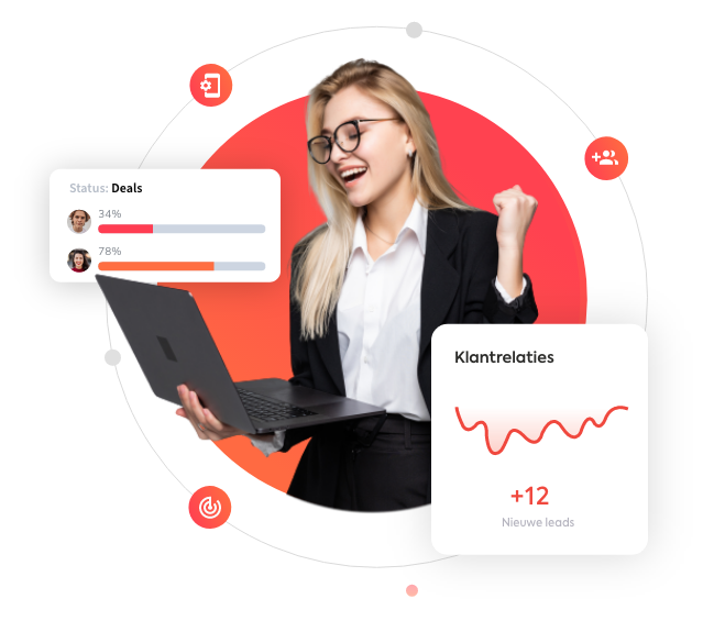 Salesmedewerker - CRM Software
