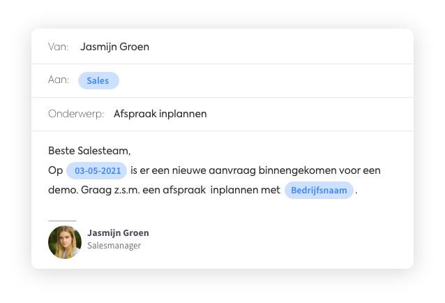 email automatisering