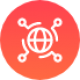 Digitale transformatie icoon